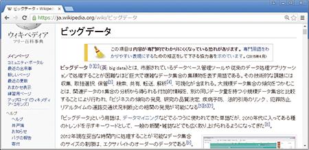日本語版ウィキペディア