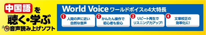 WorldVoice中国語2